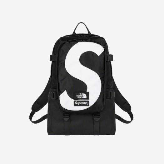 슈프림 x 노스페이스 S 로고 익스페디션 백팩 블랙 (20FW)