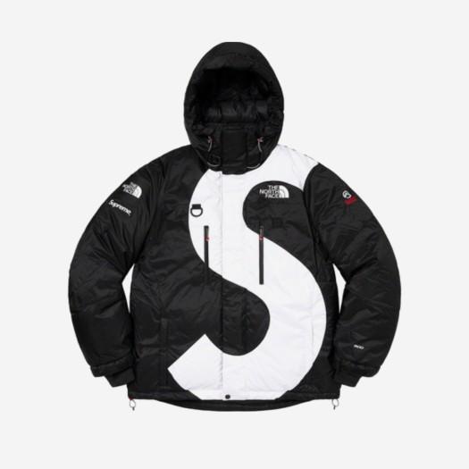 슈프림 x 노스페이스 S 로고 서밋 시리즈 히말라야 파카 블랙 (20FW)