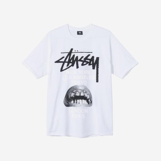스투시 x 릭 오웬스 40 월드투어 티셔츠