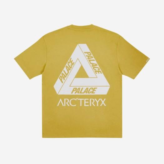 팔라스 x 아크테릭스 티셔츠 골드 (20FW)