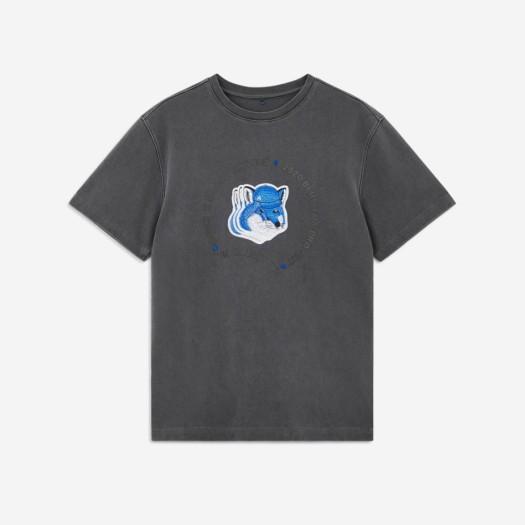 메종 키츠네 x 아더 에러 트리플 폭스 헤드 로고 티셔츠 그레이