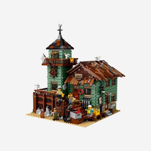 레고 오래된 낚시가게