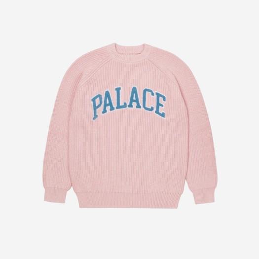 팔라스 컬리지에이트 니트 핑크 (21FW)